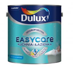 Dulux Farba hydrofobowa EASY CARE Kuchnia i Łazienka biała 5L
