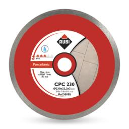 RUBI Tarcza diamentowa do gresu porcelanowego CPC 200mm (30956)
