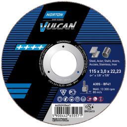NORTON Tarcza flex VULCAN A 41 230x22,2x3,0 do stali (66252925450)