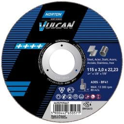 NORTON Tarcza flex Vulcan A 41 125x22,2x2,5 do stali (66252925443)