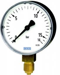 Wika Manometr z rurką Bourdona 111.10.100 M12x1,5 0-25bar stalowy - 7391955