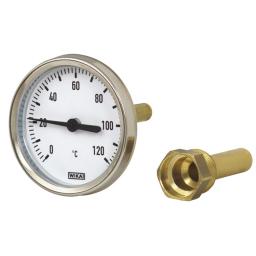 """Wika Termometr bimetaliczny obudowa ocynkowana 60mm 1/2"""" - 12178129"""