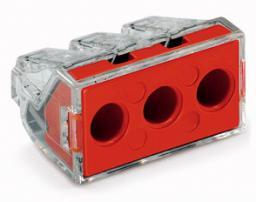 Wago Złączka do puszek instalacyjnych 3-przewodowa przeźroczysta 14,2x20,1mm (773-173)