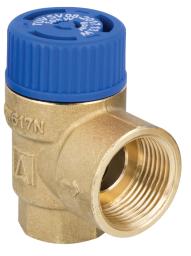 """Afriso MSW Zawór bezpieczeństwa do zasobników ciepłej wody użytkowej 10 bar, R1/2"""" x R3/4"""" 42 423"""