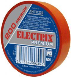 Anticor Taśma elektroizolacyjna ELECTRIX 200 PREMIUM 19mm 18m czerwona