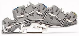 WAGO Złączka piętrowa 6mm2 N/L/PE szara 2005-7646