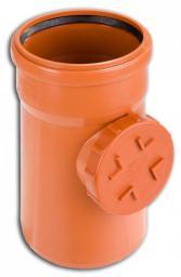 KACZMAREK Rewizja PP 110mm z czyszczakiem do kanalizacji zewnętrznej 0747203300