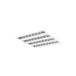 PXF Lighting Oprawa QUASET IP54 4x14W OPAL 4x14W T5/G5 biały PX1255029