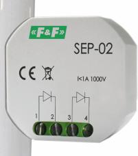 F&F Separator sygnału sterującego 1A 1000V - SEP-02