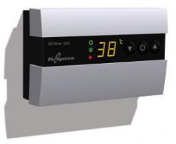 DK System Regulator temperatury kotła EKOSTER 200 sterujący pompą c.o. i wentylatorem 201601
