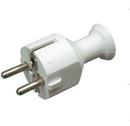 Opal Wtyczka prosta rozbieralna WT-40 2P+Z 16A biała