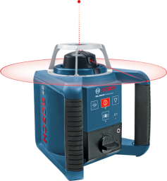 Bosch Laser obrotowy Bosch GRL 300 HV Professional odbiornik statyw pilot łata walizka ładowarka - 061599403Y