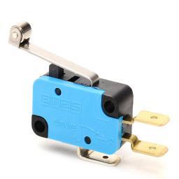 Promet Mikroprzełącznik zestyk przełączny 1NO+1NC dźwignia długa rolką - T0-MK1MIM2