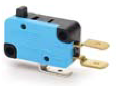Promet Mikroprzełącznik zestyk przełączny 1NO+1NC popychacz z tworzywa - T0-MK1PUP1