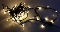 Lampki choinkowe Opal LED na kabel biały 80szt. (ATN108)