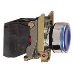 Schneider Electric Przycisk kryty podświetlany LED NO+NZ 230-240V żółty XB4BW35B5