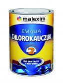 MALEXIM Emalia chlorokauczukowa POLKORCHEM NR 2 czarna 5L