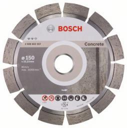 Bosch Diamentowa tarcza tnąca EXPERT FOR CONCERTE 150x22,2mm 2 608 602 557