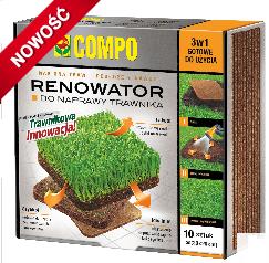 COMPO Renowator do naprawy trawnika 3 w 1 10szt.