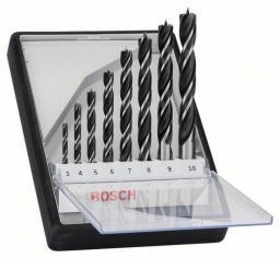 Wiertło do drewna Bosch kręte 6 8 10 7 3 4 5 9mm zestaw (2607010533)