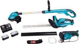 Makita Zestaw combo 18V nożyce do żywopłotu + podkaszarka + nożyce do trawy 2 x 1,3Ah (DLX3018SY)