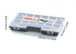 Prosperplast Organizer narzędziowy plastikowy 290 x 195 x 35mm (NOR12)