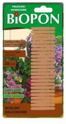 Biopon Pałeczki nawozowe do roślin balkonowych 30szt. (1212)
