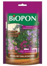 BIOPON Nawóz rozpuszczalny do roślin balkonowych 250g (247)