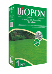 BIOPON Nawóz do trawnika z mchem 1kg (1049)