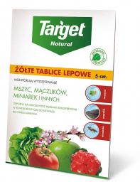 Target Żółte tablice lepowe do roślin pod osłonami 5szt.