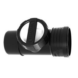 Wavin Czyszczak SiTech+ 160mm czarny (3067789)