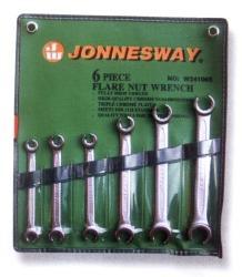 JONNESWAY Komplet kluczy do przewodów hamulcowych 6szt. (W24106S)
