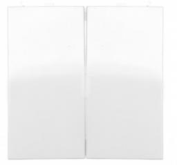 Hager Polo Klawisz do przycisków podwójnych biały połysk (5316238999)