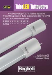 Beghelli Świetlówka TUBO LED TUTTOVETRO 1.2M 18W 840 (56216)