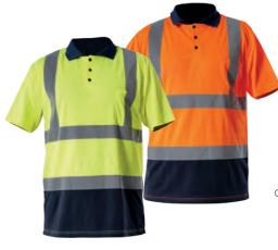 Lahti Pro Koszulka ostrzegawcza polo rozmiar S żółta (L4030201)