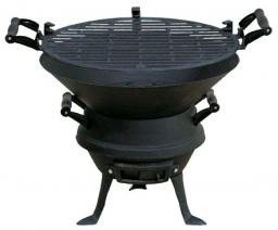 Mastergrill Grill ogrodowy węglowy ruszt żeliwny 35.5 cm (MG630)