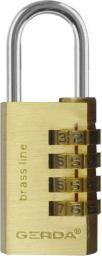 Gerda Kłódka pałąkowa szyfrowa 30mm (KSP0003000.98000B)