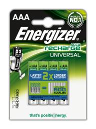 Energizer Akumulator Universal AAA / R03 500mAh 4szt.