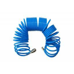 AWTools Wąż pneumatyczny spiralny 5mm 10m (AW10037)
