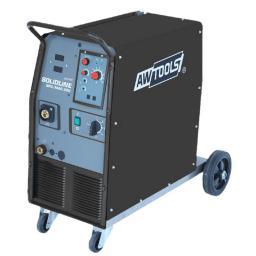 AWTools Półautomat spawalniczy MIG/MAG Solidline 200A 4-rolkowy + przyłbica (AW50026)