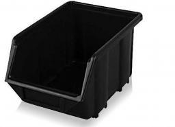 Prosperplast Kuweta magazynowa 120x195x90mm czarna (NP8-S411)