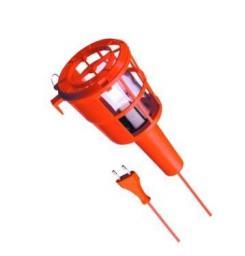 Lena Lighting Lampa warsztatowa 60W/230V/10m klosz plastik (886140)