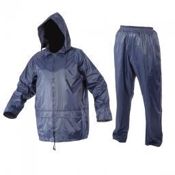 Lahti Pro Komplet przeciwdeszczowy kurtka + spodnie granat XXL (L4140105)