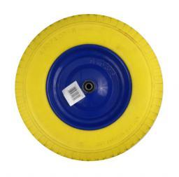 Geko Koło do taczki Flower 4.00-8 pełne żółte (G71023)