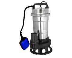 GEKO Pompa wody brudnej z rozdrabniaczem i pływakiem nikiel (81428)