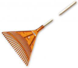 Bradas Grabie wachlarzowe plastikowe do liści 50cm (KT-CX22B)