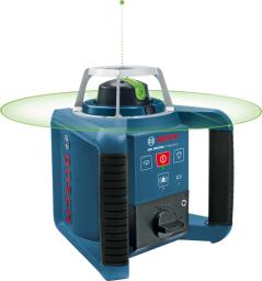 Bosch Laser obrotowy GRL 300 HVG Professional 2 x 9Ah statyw odbiornik ładowarka łata akcesoria (061599404B)