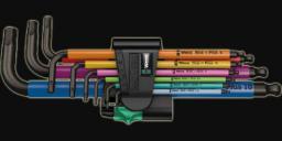 Wera Zestaw kluczy imbusowych hex typ L 1,5-10mm z kulką 9szt. (05073593001)