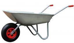 AWTools Taczka ogrodowa 65L koło plastikowe (AW00007)