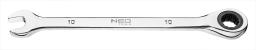 NEO Klucz płasko-oczkowy z grzechotką 24mm (09-043)